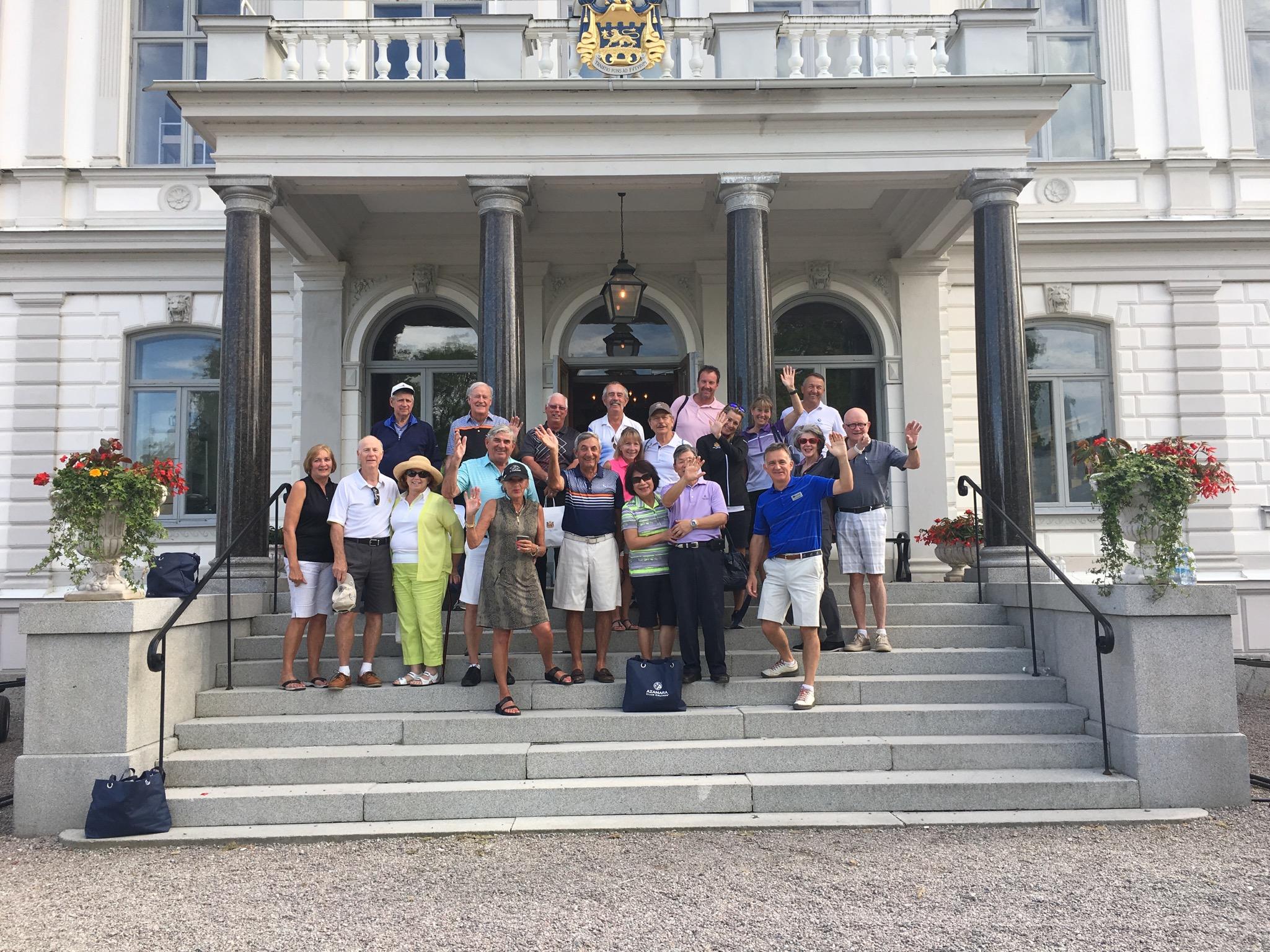 2016 Baltic Sea PerryGolf Cruise - Bro Hof Slott Golf Club - PerryGolf.com