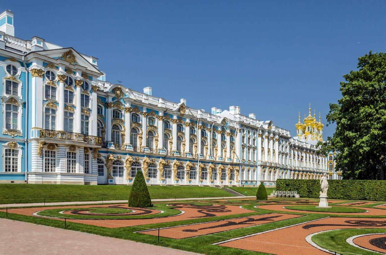 2016 Baltic Sea PerryGolf Cruise - Catherine Palace in Tsarskoe Selo, St Petersburg - PerryGolf.com
