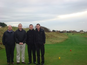 The PerryGolf Team at Royal Liverpool Golf Club