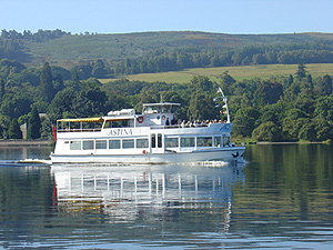 The Astina on Loch Lomond