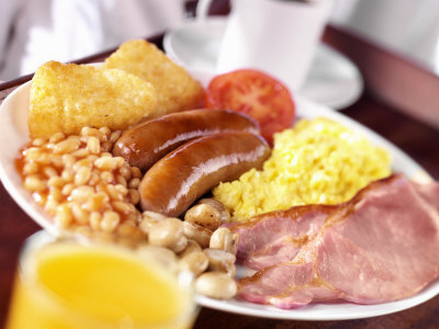 Full English Breakfast. Ever wondered what the difference is in the full