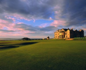 The Old Course, St. Andrews, courtesy of Russell Kirk