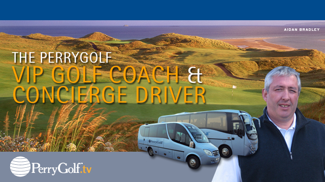 Experience Scotland in the Comfort and Convenience of a PerryGolf VIP Golf Coach with Concierge Driver