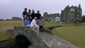 Swilcan Bridge on Old Course at St Andrews