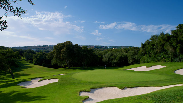 Valderrama's 6th hole, by Michael Denker