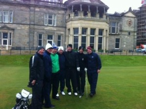 Cold Weather Golf: Old Course, St Andrews