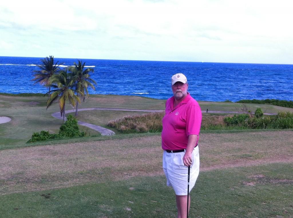 At Royal St Kitts Golf Club