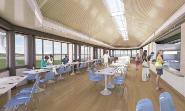 Rooftop café approved for British Golf Museum