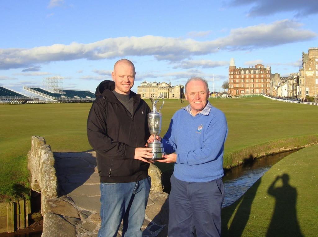 Grand Prize Winner - 2014 St Andrews Golf Getaway Giveaway