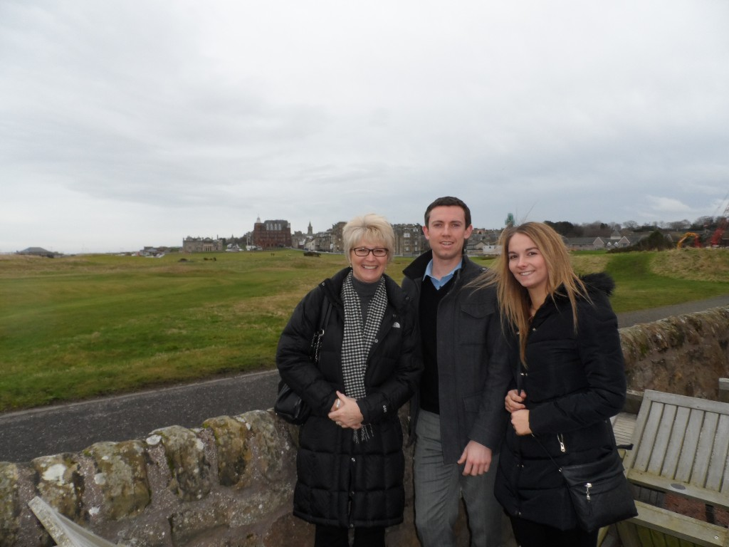 PerryGolf team visits St Andrews, Scotland