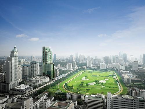 Luxury Golf Course in Bangkok, Thailand