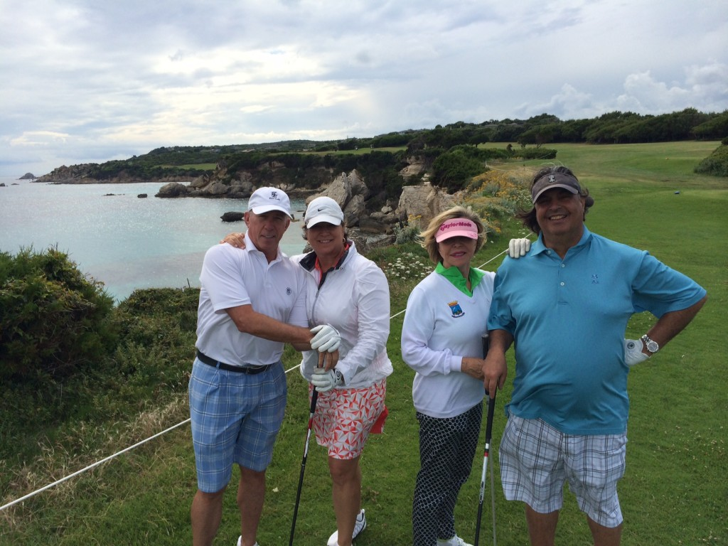 2014 Mediterranean Golf Cruise  on Le Ponant - PerryGolf.com