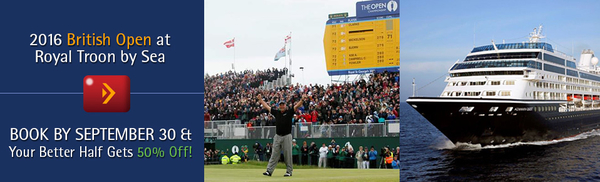 2016 British Open at Royal Troon by Sea