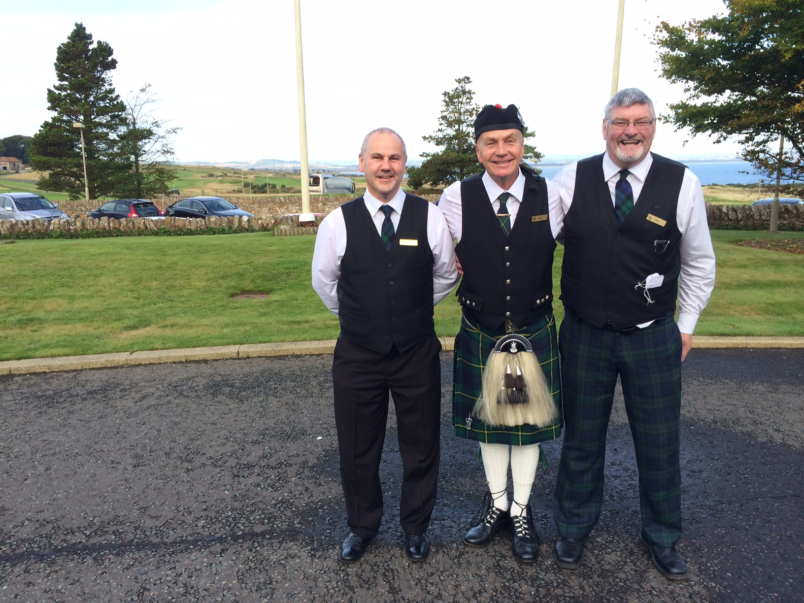 Fairmont St Andrews Concierge Staff Ready To Greet and Help Guests