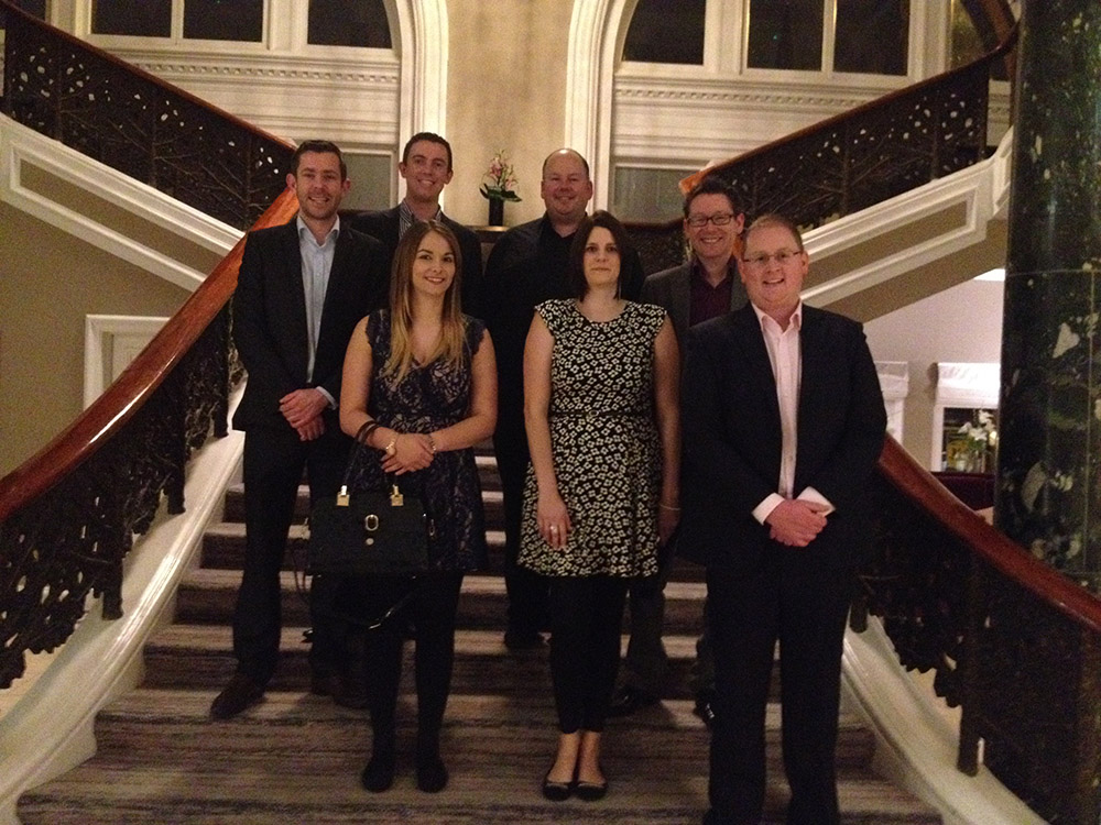PerryGolf team at Waldorf Astoria Edinburgh - The Caledonian