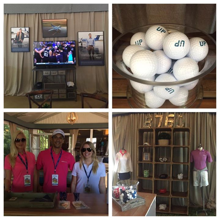 Here's a sneak peak of the Wheels Up Hospitality House The Masters.