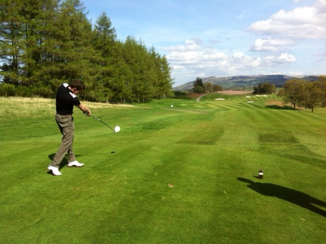 Keith Baird, PerryGolf Golf Travel Expert - Gleneagles PGA Centenary Course Hole 7 - PerryGolf.com