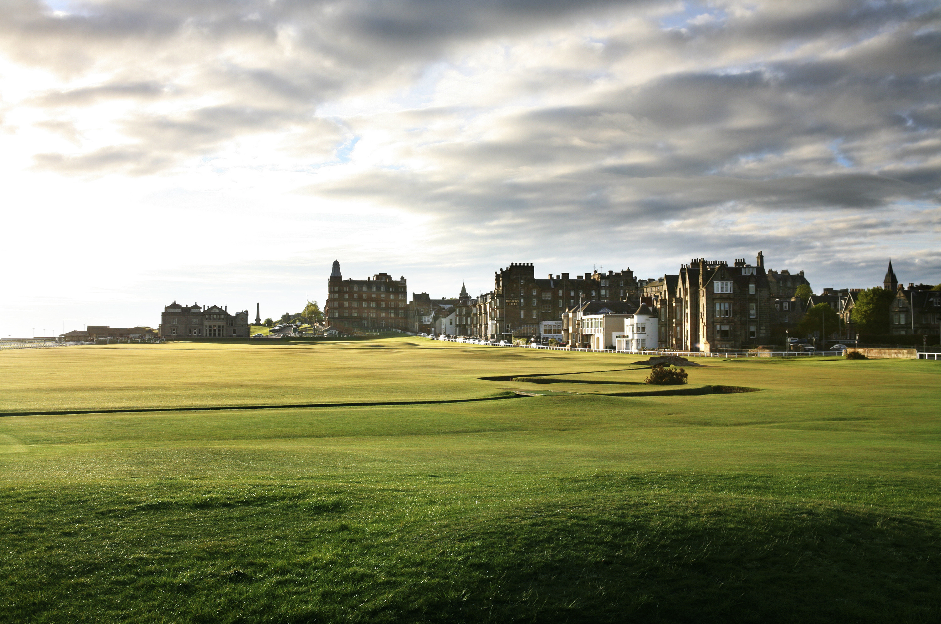Old Course at St Andrews, Scotland
