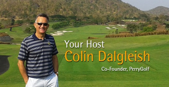 Colin Dalgleish - Your Host & Co-Founding Director of PerryGolf