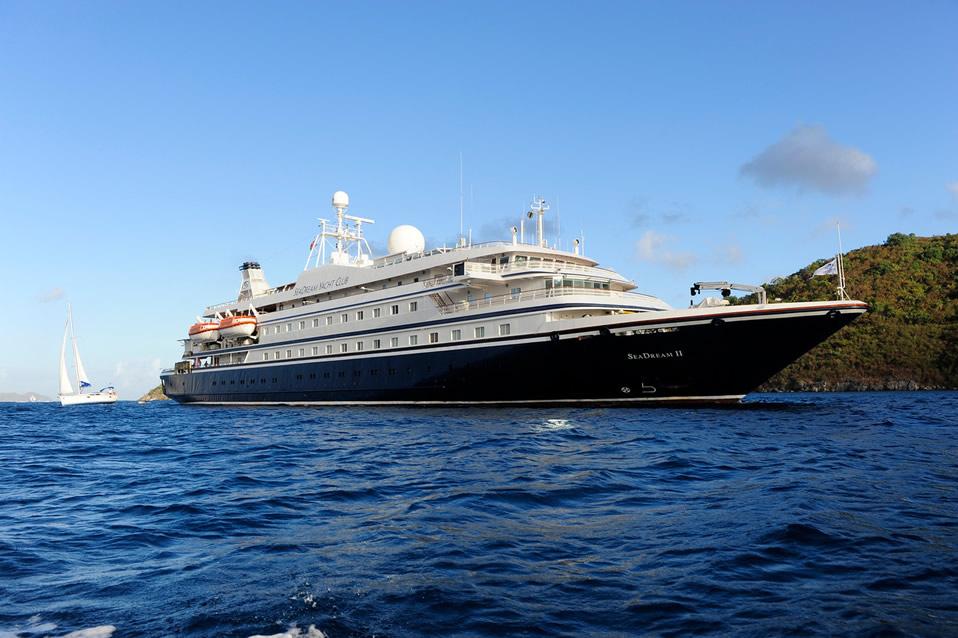 SeaDream Yacht Club - SeaDream II - PerryGolf Cruising
