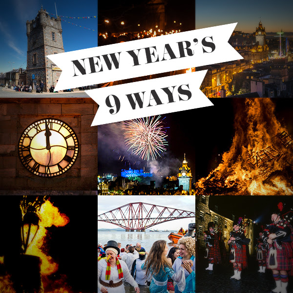 9 ways to bring in the New Year in Scotland - Photo via VisitScotland