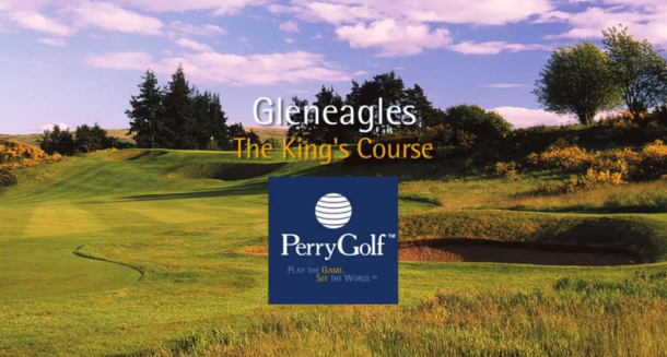 King's Course at Gleneagles Hotel, Auchterarder, Perthshire, Scotland