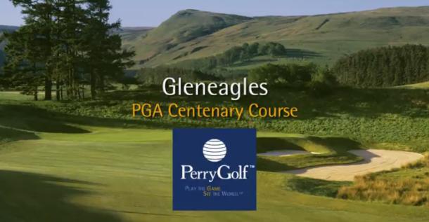 PGA Centenary Course at Gleneagles Hotel, Auchterarder, Perthshire, Scotland