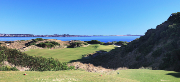 No. 14 at Barnbougle Lost Farm - Photo by Gary Lisbon