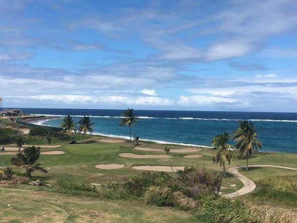 Royal St. Kitts Golf Club - No. 15 - Signature par 3 - PerryGolf.com
