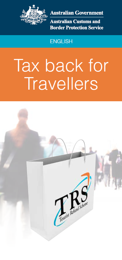 Tourist Refund Scheme - TRS - Australia Travel Tips - PerryGolf.com