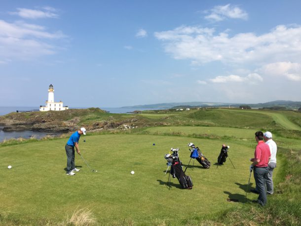 The Ailsa Course at Trump Turnberry - New 9th hole - PerryGolf.com