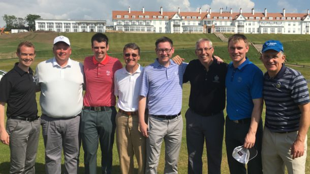 The Ailsa Course at Trump Turnberry - PerryGolf's Colin Dalgleish & Team vs. Turnberry team enjoyed their friendly annual match just after the Ailsa Course renovations in June 2016 - PerryGolf.com