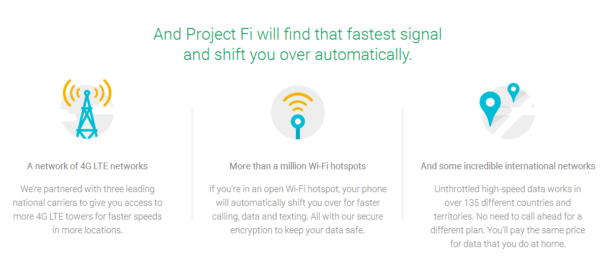 Google's Project Fi - Multiple Networks Means Faster Signals