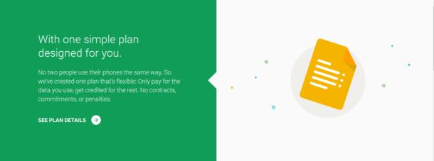 Google's Project Fi - Simple Plan