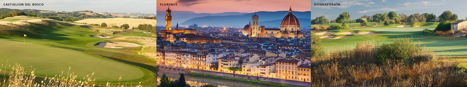 Italy Golf Vacation Trips and Italian Golf Cruises