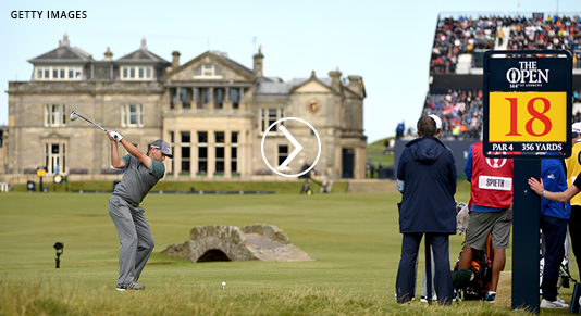 The 150th Open at St Andrews Golf Escorted Tours