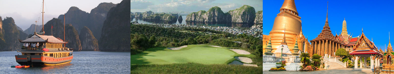 Southeast Asia Golf Cruise and Golf Vacations