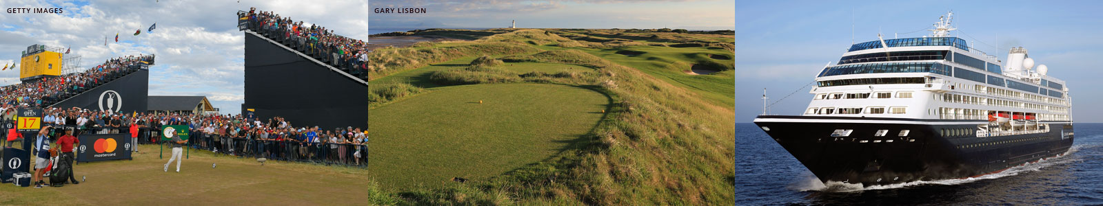British Open Championship Golf Tours and Golf Cruises
