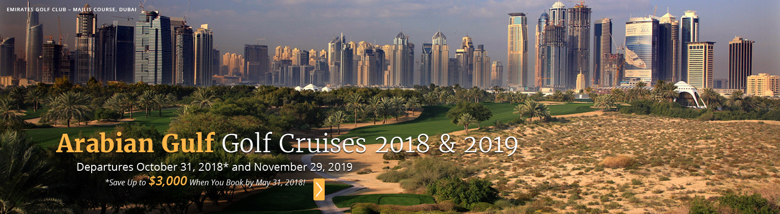 Arabian Gulf Golf Cruise