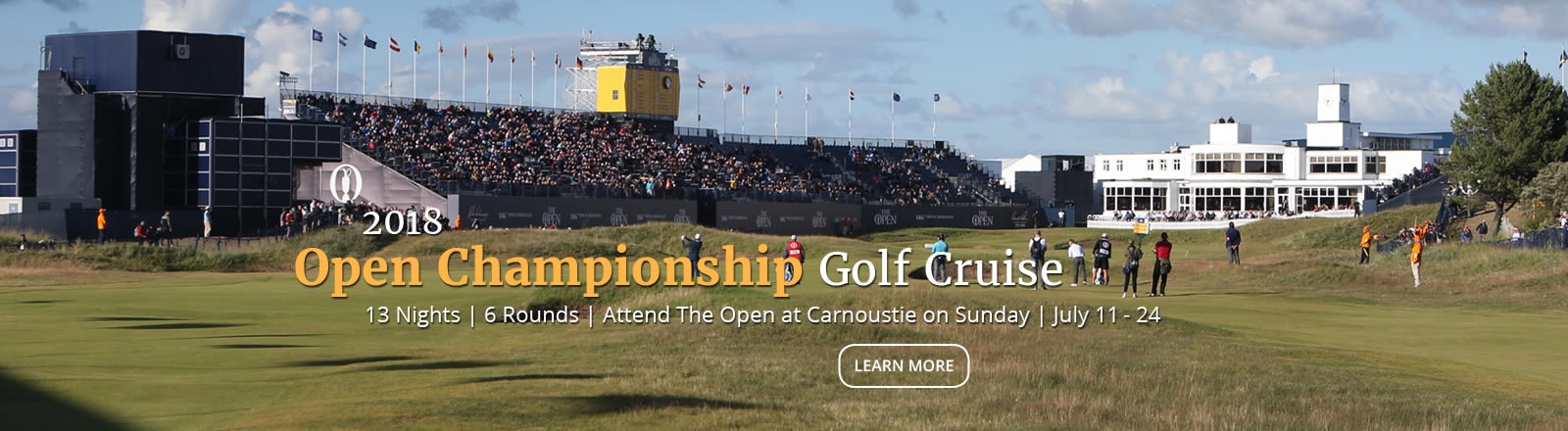Open Championship Golf Cruise