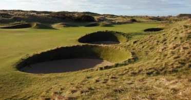 Carnoustie Golf Links by Russell Kirk