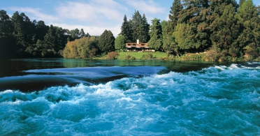 Huka Lodge - exterior