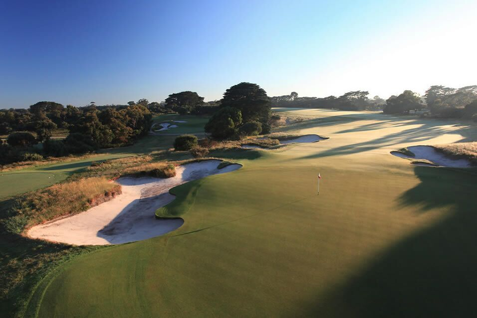 Royal Melbourne West Course by Gary Lisbon