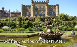 <p>Golf Castles and Gardens in <strong>Scotland</strong></p>