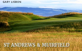 <p><strong>St Andrews</strong> and <strong>Muirfield</strong></p>