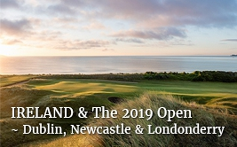The 148th Open plus Dublin Newcastle & Londonderry