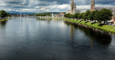 Ness River in Inverness