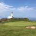 Ailsa Course at Trump Turnberry with lighthouse
