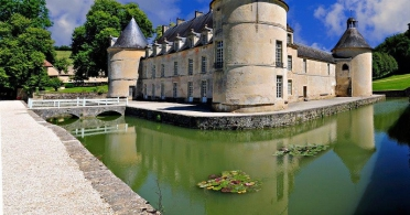 Chateau of Bussy Rabutin in Burgundy