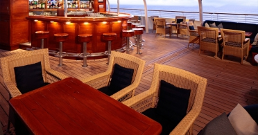 The Top of the Yacht Bar